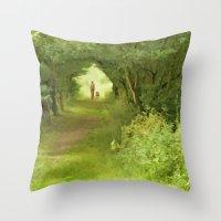 best friends Throw Pillows featuring Best Friends by CreativeByDesign