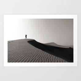 Sand Dunes of Maspalomas Art Print