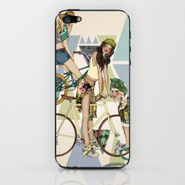 Bike Girls iPhone Skin