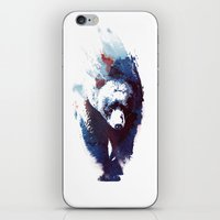 death iPhone & iPod Skins featuring Death run by Robert Farkas