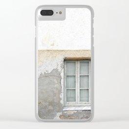 Grunge Window Clear iPhone Case