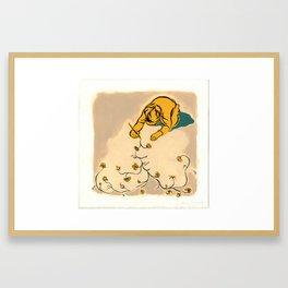 Child Drawing Framed Art Print