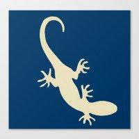 lizard Canvas Prints featuring Lizard by Abundance