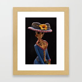 Day of the Dead (Catrina) Framed Art Print
