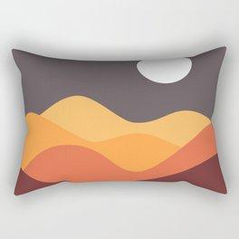 Geometric Landscape 20 Rectangular Pillow