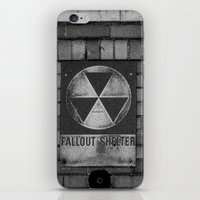 fallout iPhone & iPod Skins featuring Fallout by Lia Bedell
