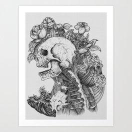 Everything with Skulls - 06 Art Print