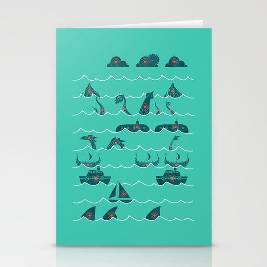 Shooting Gallery Stationery Cards