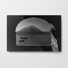 Window to the lake Metal Print