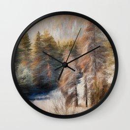 Terra Incognita Wall Clock