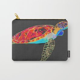 Turtle discovering the Great Barrier Reef Carry-All Pouch