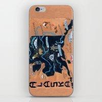 alaska iPhone & iPod Skins featuring ALASKA by Christiane Engel