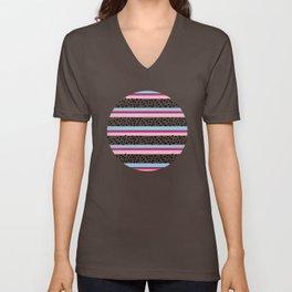 Summer Stripes Unisex V-Neck
