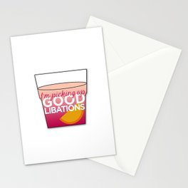 Good Libations Stationery Cards