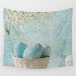 Limpet shell color eggs  Wall Tapestry