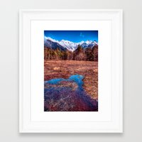 rustic Framed Art Prints featuring Rustic by Jonah Anderson