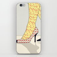 shoes iPhone & iPod Skins featuring Shoes by Ben Geiger