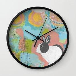 Tallulah Mandala  Wall Clock