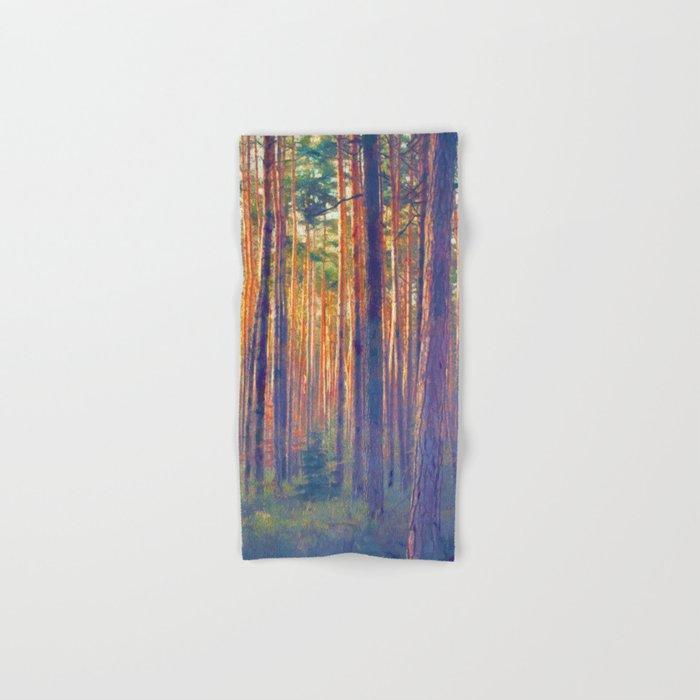 Forest - Filtering light Hand & Bath Towel