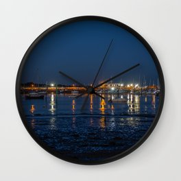 The Harbour. Wall Clock