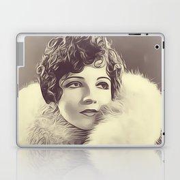 Claudette Colbert Laptop & iPad Skin