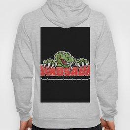 dinosaur mascot. Hoody