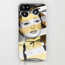 Manet's Olympia & Audrey Hepburn iPhone Case
