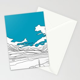 SCOTTISH HILLS Stationery Cards