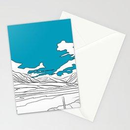 SCOTTISH HILLS Stationery Cards