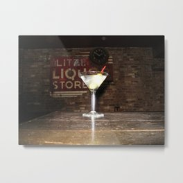 Cocktail Metal Print
