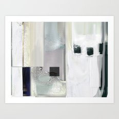 Linear nb 4 Art Print