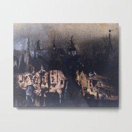 Victor Hugo: Medieval Town  Metal Print
