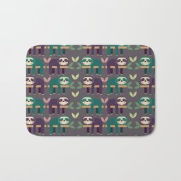 Sloth pattern Bath Mat
