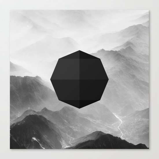 Octagon Canvas Print