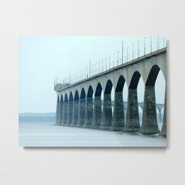 Confederation Bridge Prince Edward Island Metal Print