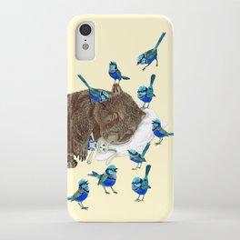 Wrens Wombat sleep iPhone Case