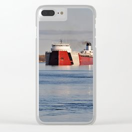 Roger Blough Clear iPhone Case