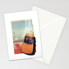 Getaway Car | Collage Stationery Cards