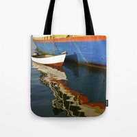 water colour Tote Bags featuring Water Colour by Danielle Jessamy