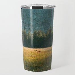Meadow Sunset in Yosemite Travel Mug