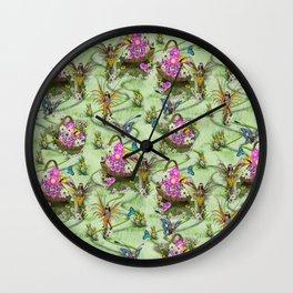 Midsummer Spring Festival Gatherers  Wall Clock
