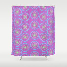 SUMMER ORANGE Shower Curtain