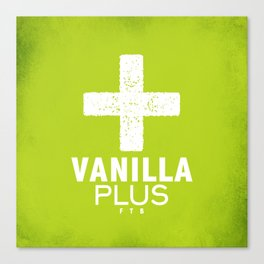 Vanilla + Canvas Print