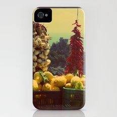Garlic, Peppers & Lemons in Amalfi, Italy Slim Case iPhone (4, 4s)