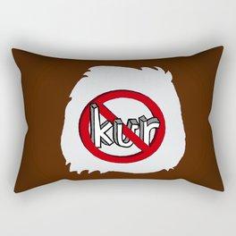 Dun Kur Bear [Don't Care Bear Brown/Grizzly] Rectangular Pillow