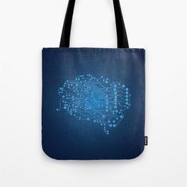Electric brain Tote Bag