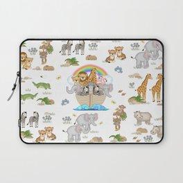 Noahs Ark Animals Laptop Sleeve