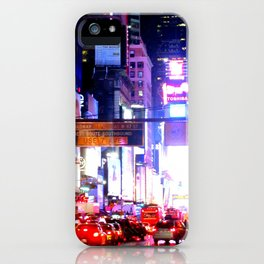 colors on pavement iPhone Case