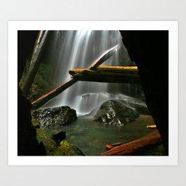 Murhut Falls Art Print