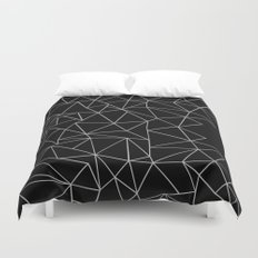 Angry Ab Duvet Cover